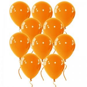 Μπαλόνια με ήλιον σε χρώμα πορτοκαλί