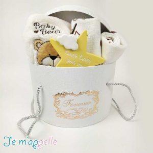 Δώρο για νεογέννητο σετ κουβερτάκι & 2 πετσετέ υποστρώματα