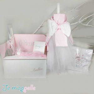 θέμα princess και χρώματα ρόζ & λευκό