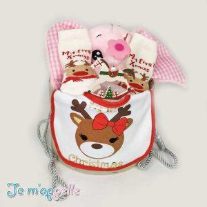 Χριστουγεννιάτικο δώρο για νεογέννητο κοριτσάκι