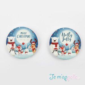 Χριστουγεννιάτικα μαγνητάκια σε υπέροχα σχέδια και χρώματα