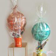 Πασχαλινό καλάθι με μπαλόνι για δώρο . Πασχαλινό καλάθι με μπαλόνι για δώρο .