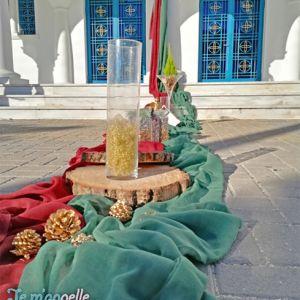 Χριστουγεννιάτικος στολισμός γάμου στον Ιερό Ναό Παναγίας Μυρτιδιώτισσας