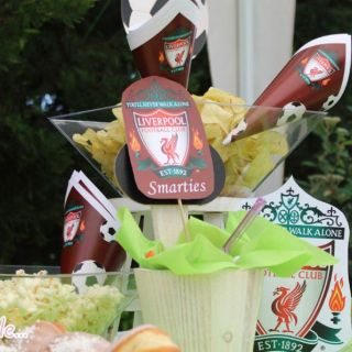 Candy bar για πάρτυ Liverpool Forty love κορωπί